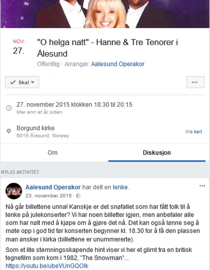 Facebook event social media